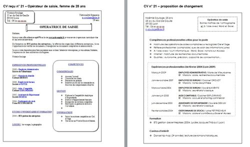 exemple cv reconversion professionnelle