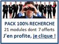 Pack 100% recherche