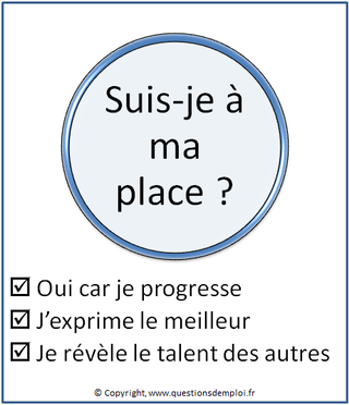 Microcoaching n°17, suis-je à ma place