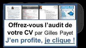 Audit 2 de votre CV par Gilles Payet