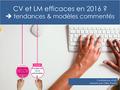 Conference_cv_et_lm_efficaces