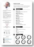 CV design élégant