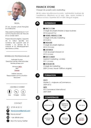 CV Design elegant+