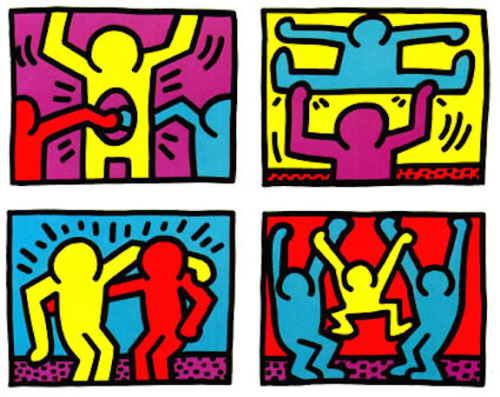 Polyvalence keith haring