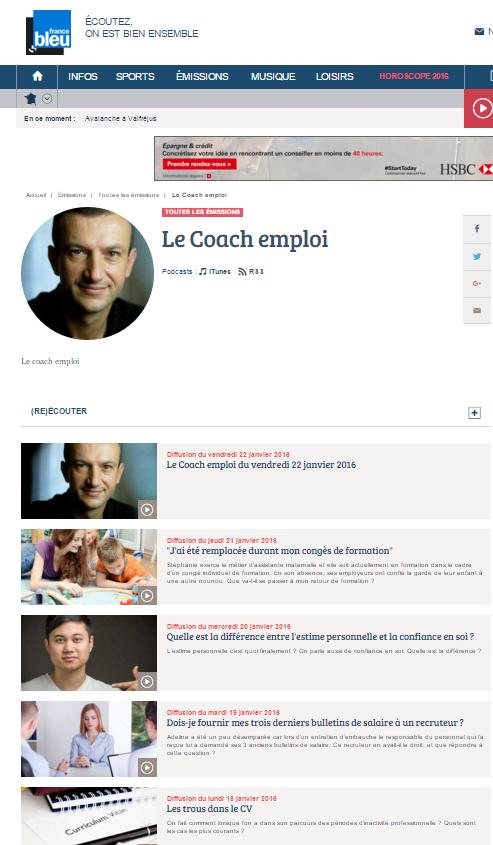 France Bleu 107.1, 22 janvier