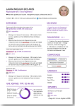 CV design eB+