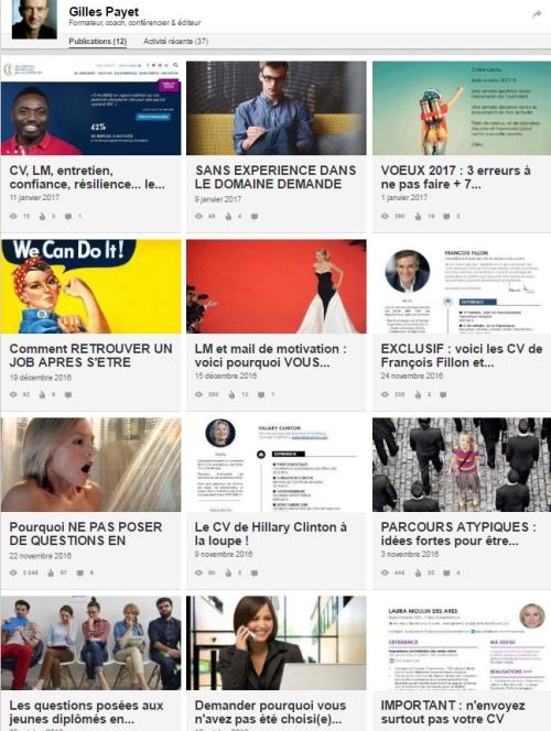 Articles Gilles Payet publiés sur Linkedin