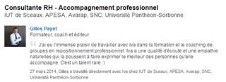 Recommandation Linkedin