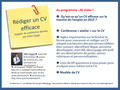 Conference CV efficace, Gilles payet