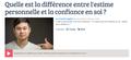 Estime personnelle, France Bleu 107.1