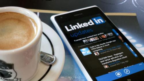 Linkedin smartphone
