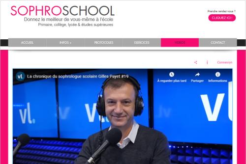 Sophroschool.fr Gilles Payet  sophrologue scolaire