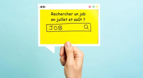 Trouver un job en été